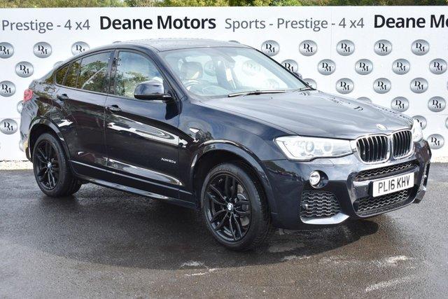 2016 16 BMW X4 2.0 XDRIVE20D M SPORT 4d AUTO 188 BHP GREAT SPEC