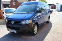 USED 2015 65 VOLKSWAGEN TRANSPORTER SHUTTLE 2.0 T32 TDI 1d 140 BHP LWB SEMI-HIGH TOP 9 SEATER MINIBUS WITH A/C