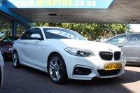 2014 BMW 2 SERIES 2.0 218D M SPORT 2dr 141 BHP £11595.00