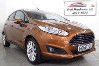USED 2016 66 FORD FIESTA 1.0 TITANIUM 5d AUTO 99 BHP This smart looking Ford Fiesta Titanium is kitted out with: Alloy Wheels, Rear Privacy Glass, Ford Navigation, Rear Parking Sensors, Power-Folding Wing Mirrors, Cruise Control, Bluetooth with Voice Activation, Automatic Climate Control, Front Heated Windscreen, DAB Radio, CD Player, Front Electric Windows and Automatic Lights & Wipers. This Fiesta boasts an impressive combined 57.7 MPG and is only £30 to tax for the entire year.