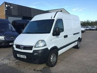 USED 2007 56 VAUXHALL MOVANO 2.5CDTI 3500 MWB HIGH ROOF 100BHP. PX TO CLEAR. BARGAIN. GOOD SIZE VAN FOR THIS PRICE. PX TO CLEAR. BARGAIN.