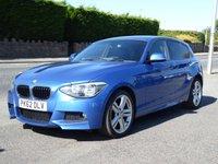 2012 BMW 1 SERIES 2.0 118D M SPORT 5d 141 BHP £8995.00