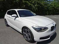 2013 BMW 1 SERIES 2.0 118D SPORT 3d 141 BHP £7990.00