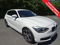 USED 2013 63 BMW 1 SERIES 2.0 118D SPORT 3d 141 BHP