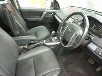 USED 2008 58 LAND ROVER FREELANDER 2.2 TD4 HSE 5d AUTO 159 BHP AUTOMATIC FULL SERVICE HISTORY
