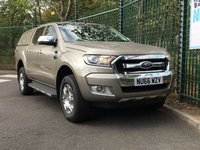 USED 2016 66 FORD RANGER 3.2 LIMITED 4X4 DCB TDCI 4d 197 BHP