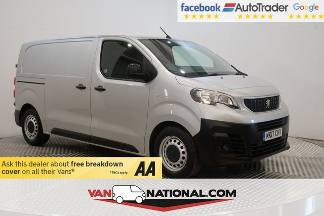 USED 2017 17 PEUGEOT EXPERT 1.6 BLUE HDI PROFESSIONAL 115 BHP (AIR CON EURO 6 ULEZ) * EURO 6 * AIR CON * ONE OWNER *