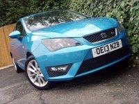 2013 SEAT IBIZA 1.2 TSI FR 3d 104 BHP £5499.00