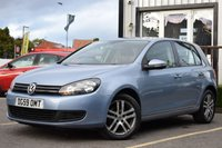 USED 2009 59 VOLKSWAGEN GOLF 1.6 SE TDI DSG 5d AUTO 103 BHP STUNNING VW GOLF + GREAT HISTORY! MUST BE SEEN!