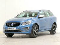 USED 2016 66 VOLVO XC60 2.0 D4 R-DESIGN NAV AUTO [£2,850 OF OPTIONS] ADAPTCRUISE PARKSENSORS B/SPOT