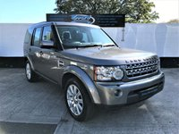 2010 LAND ROVER DISCOVERY 3.0 4 TDV6 HSE 5d AUTO 245 BHP £SOLD