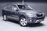 2012 HYUNDAI SANTA FE 2.2 CRDI PREMIUM 5d AUTO 194 BHP £7475.00