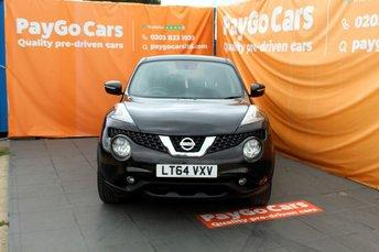 2014 NISSAN JUKE 1.6 ACENTA XTRONIC 5d AUTO 117 BHP £6999.00