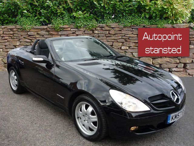 2007 57 MERCEDES-BENZ SLK  SLK 200K ROADSTER, AUTOMATIC