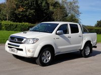 2011 TOYOTA HI-LUX 3.0 INVINCIBLE 4X4 D-4D DCB 1d AUTO 169 BHP £SOLD