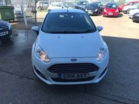 USED 2014 14 FORD FIESTA 1.2 Zetec 3 Door.