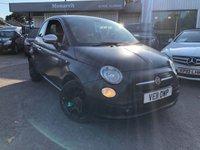 2011 FIAT 500 0.9 MATT BLACK 3d 85 BHP £4980.00