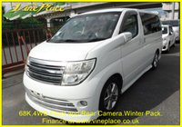 USED 2005 54 NISSAN ELGRAND Rider Autec 3.5 4WD Automatic 8 Seats Full Leather  +68K+4WD+FRONT AND REAR MONITOR+