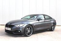 2015 BMW 4 SERIES 2.0 420D SPORT GRAN COUPE 4d AUTO 188 BHP £12850.00