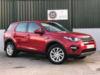USED 2017 LAND ROVER DISCOVERY SPORT 2.0 TD4 SE TECH 5d AUTO 180 BHP