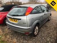 USED 2002 02 FORD FOCUS 1.6 ZETEC SILVER 3d 100 BHP