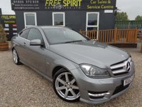 USED 2012 12 MERCEDES-BENZ C CLASS 2.1 C220 CDI BlueEFFICIENCY AMG Sport Edition 125 7G-Tronic 2dr Full Benz History, Nav, Phone