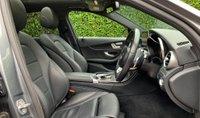 USED 2017 17 MERCEDES-BENZ C CLASS 2.1 C220d AMG Line (Premium Plus) G-Tronic+ (s/s) 4dr MEGA SPEC+FMSH+HEAD TURNER+