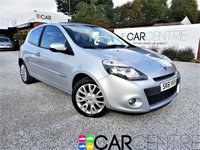 USED 2011 61 RENAULT CLIO 1.1 DYNAMIQUE TOMTOM 16V 3d 75 BHP SERVICE HISTORY + MOT SEPT 2020