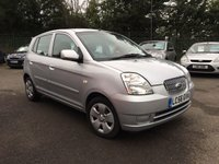 2006 KIA PICANTO 1.1 LX 5d  NEW MOT AND RECENT TIMING BELT  £1250.00