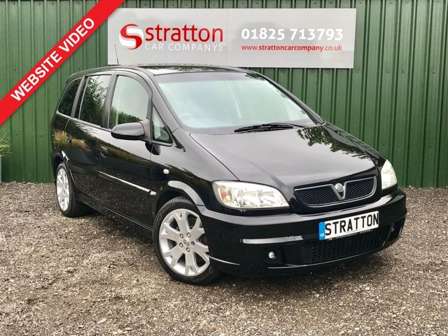 USED 2004 04 VAUXHALL ZAFIRA 2.0 GSI TURBO 5d 200 BHP - HD Video On Our Website
