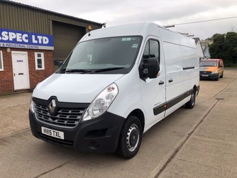 2015 RENAULT MASTER 2.3 LM35 BUSINESS DCI LWB L3 H2 125 BHP £8000.00