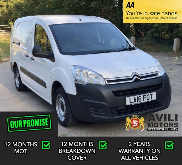 USED 2016 16 CITROEN BERLINGO 1.6 750 LX L2 BLUEHDI S/S 6d 98 BHP