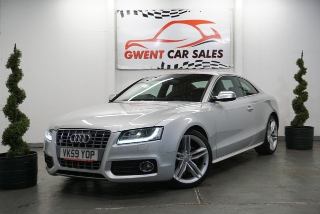 USED 2009 59 AUDI A5 4.2 S5 V8 QUATTRO 2d 354 BHP GREAT EXAMPLE PLUS DRIVE ,LEATHER