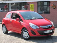 2012 VAUXHALL CORSA 1.0 S ECOFLEX (ONE OWNER) 3dr £3290.00