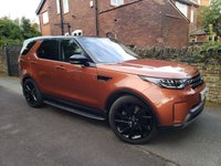 2017 LAND ROVER DISCOVERY 3.0 TD6 FIRST EDITION 5d AUTO 255 BHP £42000.00