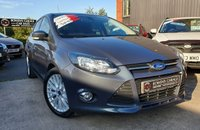 USED 2014 14 FORD FOCUS 1.0 ZETEC NAVIGATOR 5d 124 BHP Low Miles - 6 Services - £30 Tax - Sat Nav - Local Car