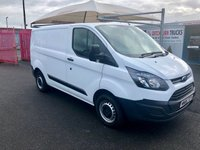 2016 FORD TRANSIT CUSTOM 2.0TDCi 290 L1H1 Panel Van 105PSi - Air-Conditioning £9995.00