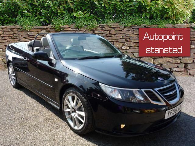 2008 08 SAAB 9-3 1.8T VECTOR 2DR AUTO, CONVERTIBLE, NEW SHAPE