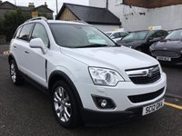 USED 2012 12 VAUXHALL ANTARA 2.2 SE CDTI S/S 5d 161 BHP OUR  PRICE ALSO  INCLUDES A 6 MONTH AA WARRANTY DEALER CARE EXTENDED GUARANTEE, 1 YEARS MOT AND A OIL & FILTERS SERVICE. 6 MONTHS FREE BREAKDOWN COVER. CALL US NOW FOR MORE INFORMATION OR TO BOOK A TEST DRIVE ON 01315387070 !!