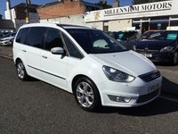 USED 2011 61 FORD GALAXY 1.6 TITANIUM X 5d 160 BHP THIS 2011 FORD GALAXY TITANIUM X IS STUNNING IN WHITE WITH PANORAMIC ROOF !!