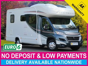2018 AUTO-TRAIL TRIBUTE T-715 2.3 END BEDROOM WITH FIXED DOUBLE BED £39470.00