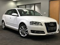 USED 2010 60 AUDI A3 1.6 TDI SPORT 5d 103 BHP excellent condition