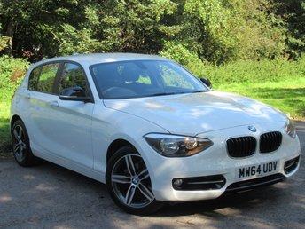 2015 BMW 1 SERIES 1.6 116I SPORT 5d AUTO 135 BHP £10990.00