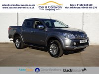 USED 2016 66 MITSUBISHI L200 2.4 DI-D 4X4 WARRIOR DCB 1d 178 BHP One Owner Full Dealer History Buy Now, Pay Later Finance!