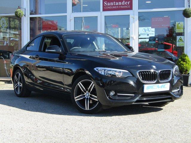 2017 66 BMW 2 SERIES 2.0 218D SPORT 2d 148 BHP