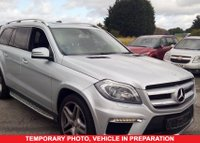 USED 2013 13 MERCEDES-BENZ GL-CLASS 3.0 GL350 CDI BLUETEC AMG SPORT 2013 Vehicle 5d Family 7 Seat SUV 4x4 AUTO an Incredible Utility Vehicle with Full Mercedes Service History Massive High Spec inc Sunroof Sat Nav Leather Seats with Memory Ft and Rr Parking Sensors Side Steps Tinted Privacy Glass Roof Rails MASSES OF HIGH SPEC