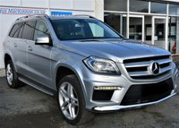USED 2013 13 MERCEDES-BENZ GL-CLASS 3.0 GL350 CDI BLUETEC AMG SPORT March 2013 Vehicle with Private Plate M800JSG 5d Family 7 Seat SUV 4x4 AUTO with Full Mercedes Service History Massive High Spec inc Sunroof Sat Nav Leather Seats with Memory Ft and Rr Parking Sensors Side Steps Tinted Privacy Glass Roof Rails MASSES OF HIGH SPEC