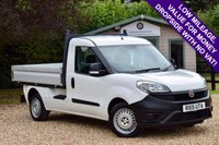 USED 2015 15 FIAT DOBLO 1.2 16V MULTIJET WORK UP 1d 90 BHP DROPSIDE CLEAN BARGAIN VAN WITH NO VAT! SUPERB VALUE FOR MONEY DROPSIDE!