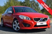 USED 2011 11 VOLVO C30 2.0 D3 R-DESIGN 3d AUTO 148 BHP 60,000 MILES! FULL SERVICE HISTORY! 2 KEYS! LEATHER!
