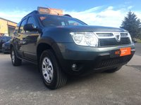 USED 2013 63 DACIA DUSTER 1.5 AMBIANCE DCI 4WD 5d 109 BHP 4x4, parking sensors.